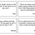 Adivinanzas fáciles en inglés para niños