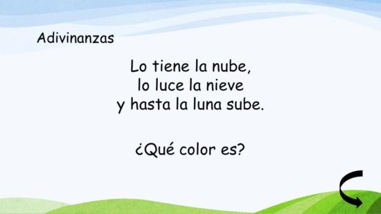 40 Adivinanzas de colores para niños - Adivinanzas y Trabalenguas