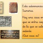 Adivinanzas de historia para niños